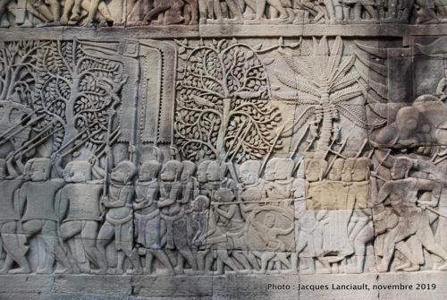 Temple Bayon, Angkor Thom, Siem Reap, Cambodge