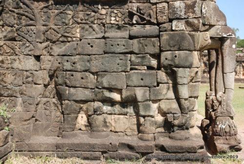 Terrasse des Éléphants, Angkor Thom, Siem Reap, Cambodge