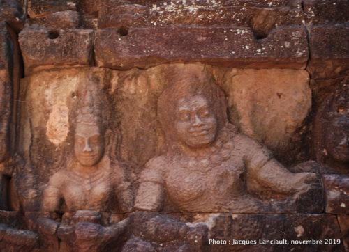 Terrasse du Roi lépreux, Angkor Thom, Siem Reap, Cambodge