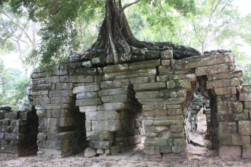 Pont Spean Thmor, Angkor Thom, , Siem Reap, Cambodge