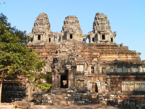 Temple Ta Keo, Angkor Thom, Siem Reap, Cambodge