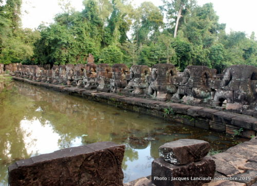 Temple Preah Khan, Angkor, Siem Reap, Cambodge