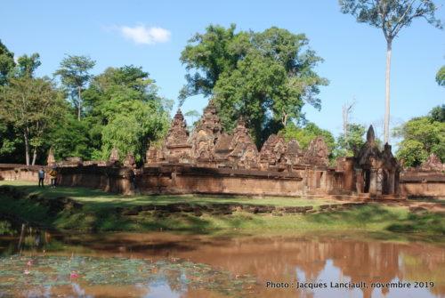 Temple Banteay Srei, Angkor, Siem Reap, Cambodge