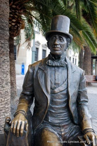 Hans Christian Andersen, Málaga, Espagne