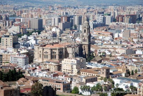 Castillo de Gibralfaro, Málaga, Espagne