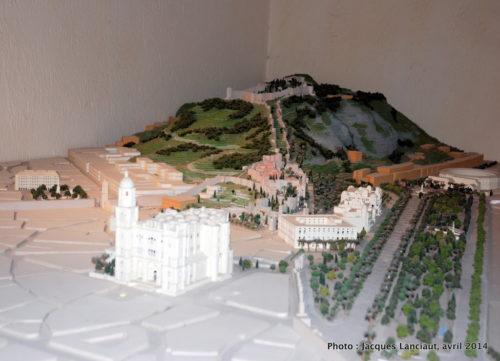 Centre d'interprétation du Castillo de Gibralfaro, Málaga, Espagne