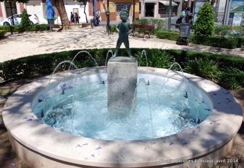 Plaza de los Monos, Málaga, Espagne