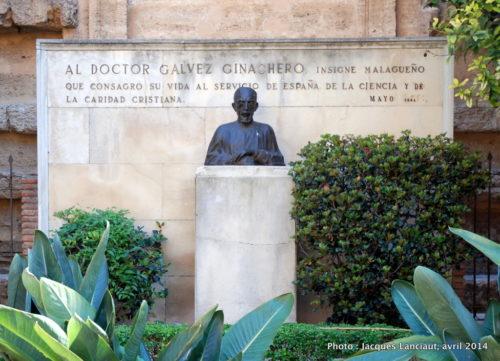 José Gálvez Ginachero, Málaga, Espagne