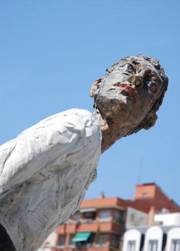 Man Moving 2, Centro de Arte Contemporáneo de Málaga, Espagne