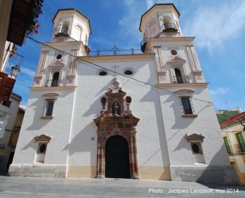 Iglesia de la Santa Cruz y San Felipe Neri, Málaga, Espagne