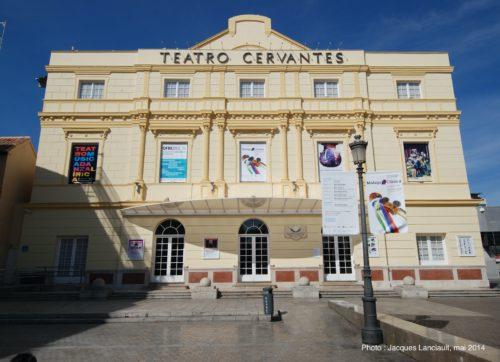 Teatro Cervantes, Málaga, Espagne