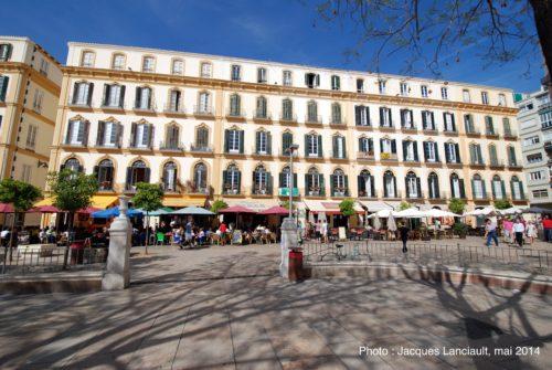 Plaza de la Merced, Málaga, Espagne