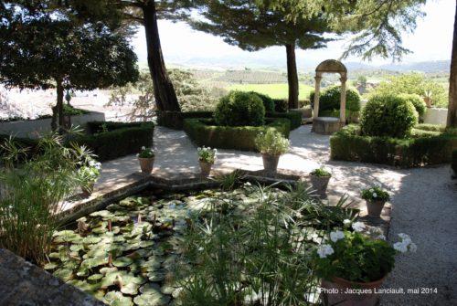 Jardins de Forestier, palacio DelRey Moro, Ronda, Andalousie, Espagne