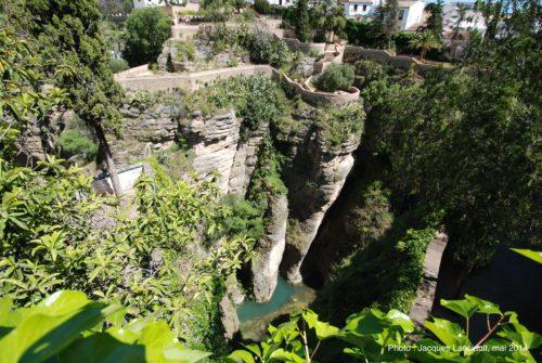 Mina de Agua, palacio Del Rey Moro, Ronda, Andalousie, Espagne