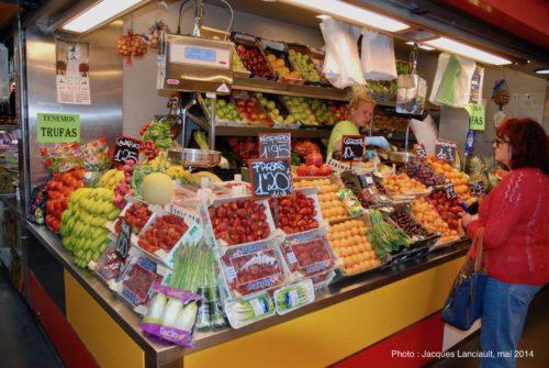 Mercado Central de Atarazanas, Málaga, Andalousie, Espagne