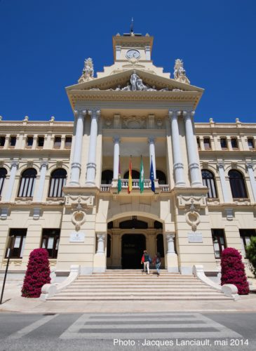 Ayuntamiento deMálaga, Málaga, Andalousie, Espagne
