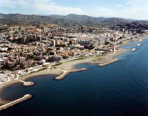 Playa Pedregalejo, Málaga, Andalousie, Espagne