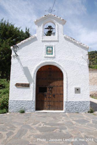 Ermita de la Virgen de lasAugustias, Pórtugos, Las Alpujarras, Andalousie, Espagne