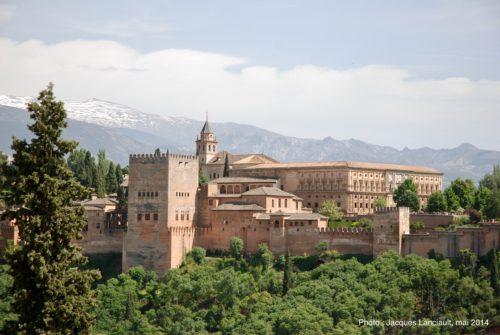 Alhambra, Grenade, Andalousie, Espagne