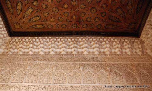 Palacios Nazaríes, Alhambra, Grenade, Andalousie, Espagne