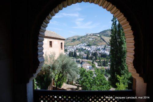 Sala de los Ajimeces, Alhambra, Grenade, Andalousie, Espagne