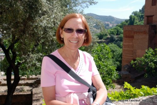 Patio de Lindaraja, Alhambra, Grenade, Andalousie, Espagne