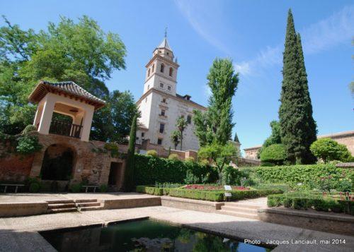 Iglesia de Santa María de la Alhambra, Grenade, Andalousie, Espagne