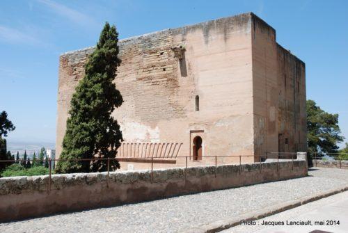 Alcazaba, Alhambra, Grenade, Andalousie, Espagne