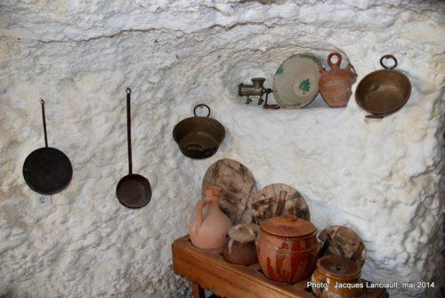 Museo Cuevas del Sacromonte, Sacromonte, Grenade, Andalousie, Espagne