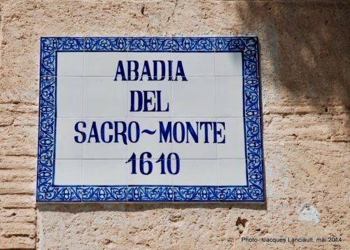 Abadia delSacromonte, Grenade, Andalousie, Espagne