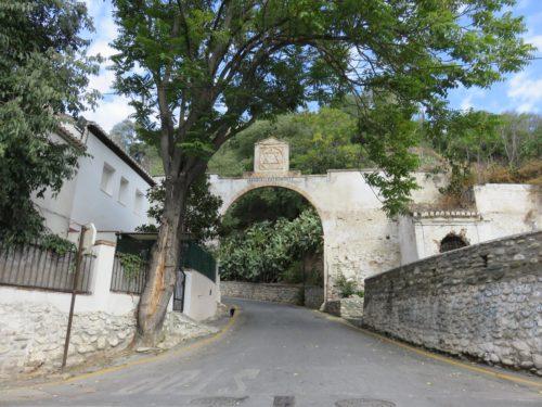 Camino delSacromonte, Grenade, Andalousie, Espagne