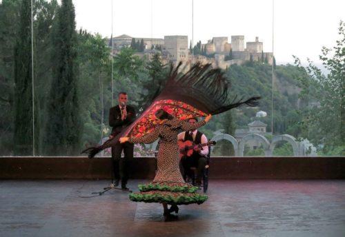 La Chumbera, Auditorio municipal, Grenade, Andalousie, Espagne