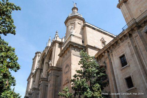 Cathédrale, Grenade, Andalousie, Espagne