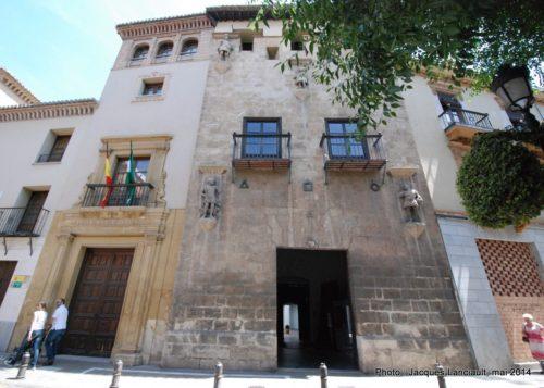 Casa de losTiros, Grenade, Andalousie, Espagne