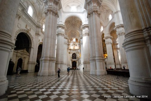 Catedral Metropolitana de la Encarnación, Grenade, Andalousie, Espagne