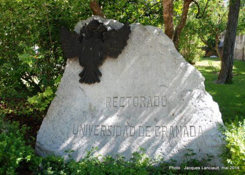 Rectorat de l'Université de Grenade, Grenade, Andalousie, Espagne