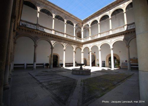 Patio de la Capilla, Rectorat de l'Université de Grenade, Andalousie, Espagne