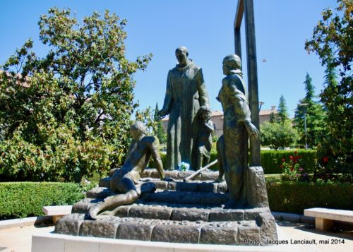 Monumento al Triunfo de la Virgen, Grenade, Andalousie, Espagne