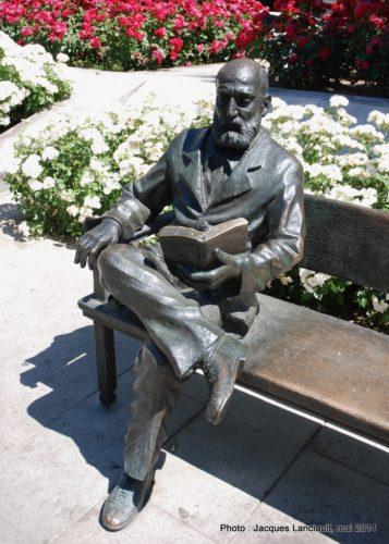 Pedro Antonio de Alarcón, Avenida de la Constitución, Grenade, Andalousie, Espagne