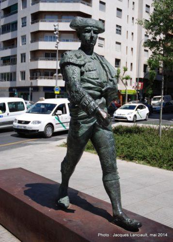 Frascuelo, Avenida de la Constitución, Grenade, Andalousie, Espagne