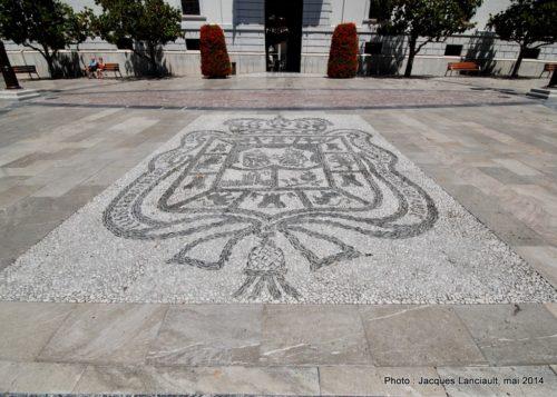 Ayuntamiento, Grenade, Andalousie, Espagne