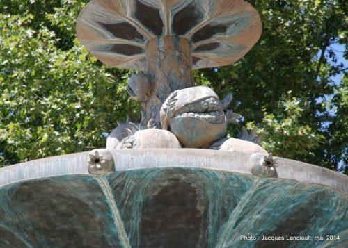 Fuente de las Granadas, Grenade, Andalousie, Espagne