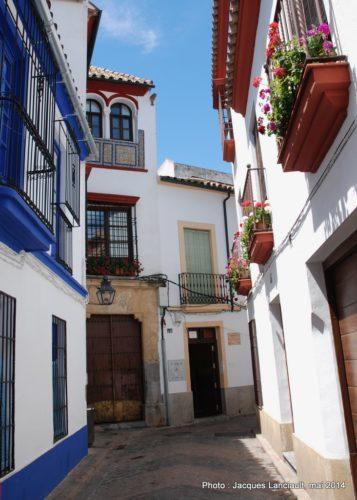 Calle, Cordoue, Andalousie, Espagne