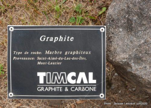 Marbre graphiteur, École des Semailles, Blainville, Québec