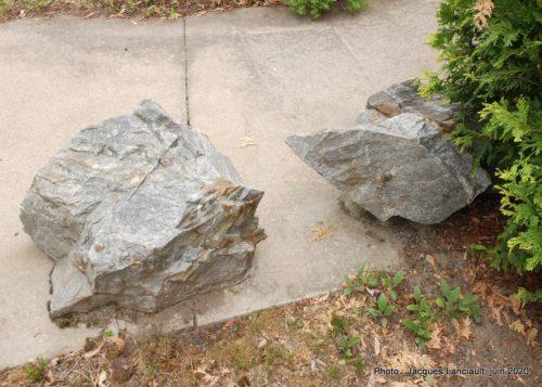 Veine de quartz aurifère, École des Semailles, Blainville, Québec