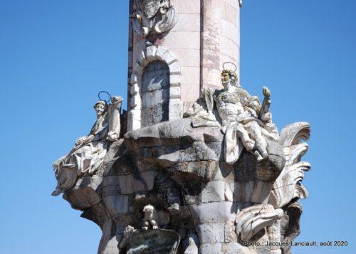 El Triunfo de San Rafael, Cordoue, Andalousie, Espagne