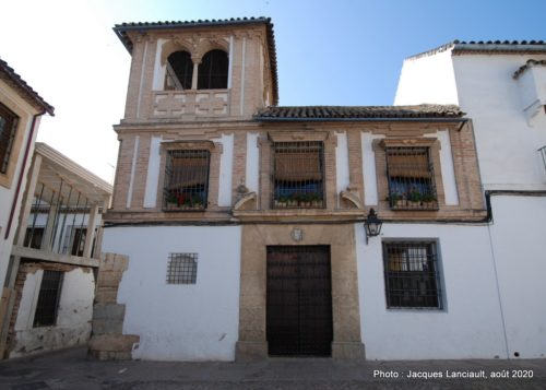 Plaza Tiberiades, La Judería, Cordoue, Andalousie, Espagne