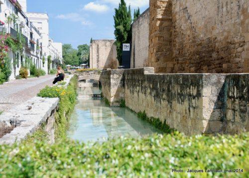 Plaque des villes jumelles, Cordoue, Andalousie, Espagne