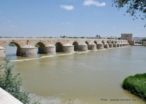 Puente Romano, Cordoue, Andalousie, Espagne