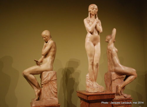 Las très edades de la mujer, Musée des beaux-arts, Cordoue, Andalousie, Espagne